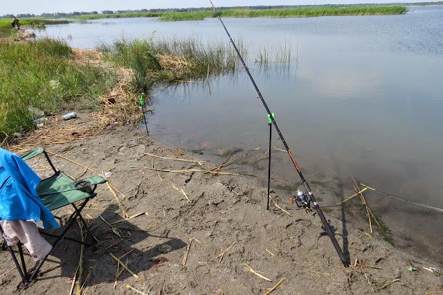 Мой фидер для ловли карпа на озере Яу-Балык