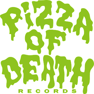 PIZZA OF DEATH ロゴ logo 緑