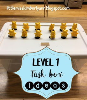 Put In Task Boxes for Special Education