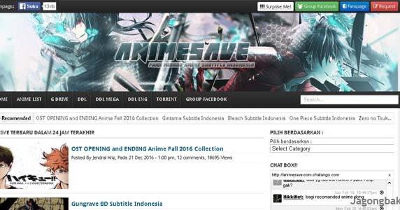 tempat download anime subtitle indonesia paling ampuh