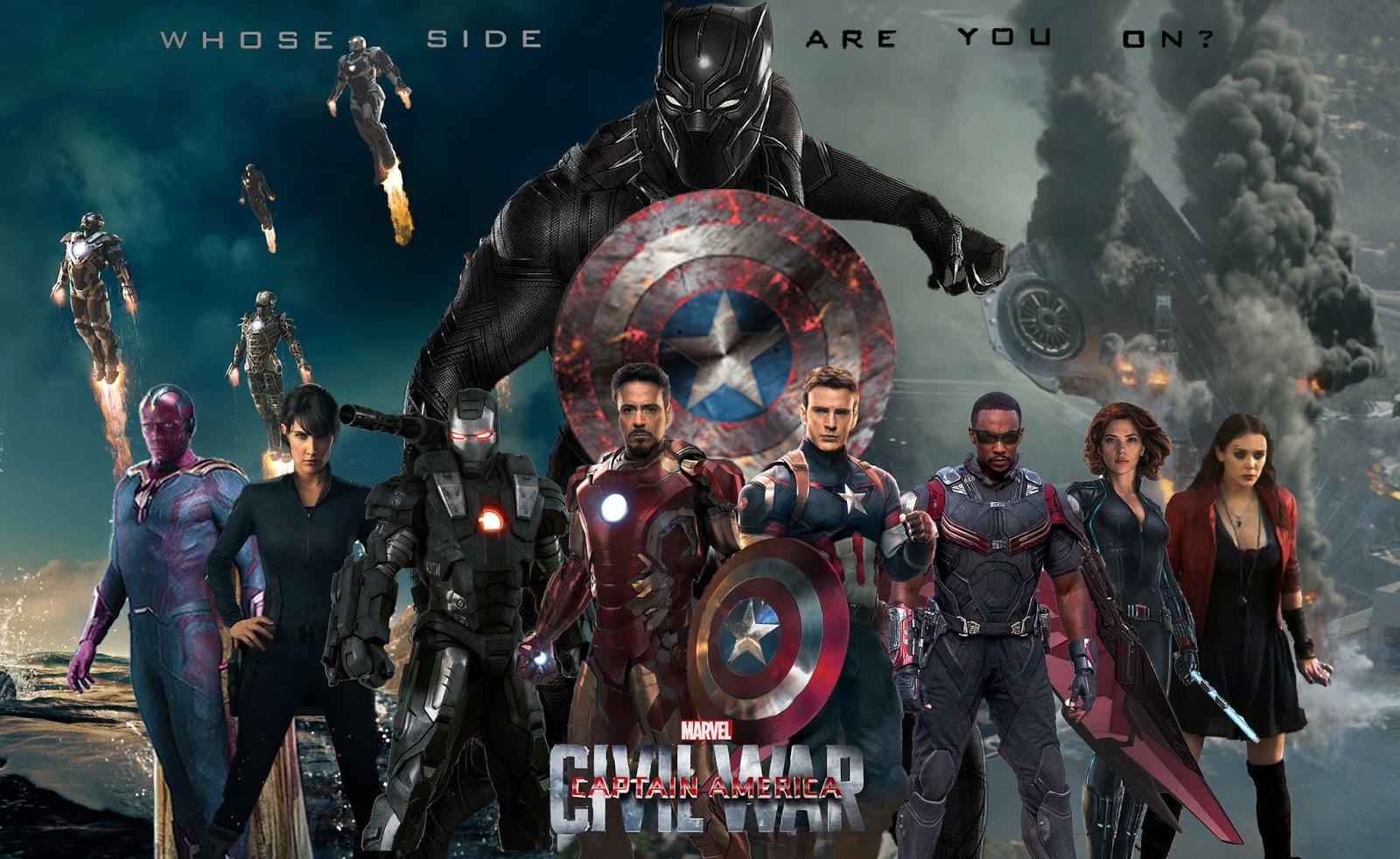 Letarius Animes: Guerra Civil - Marvel (HQ e Filme)