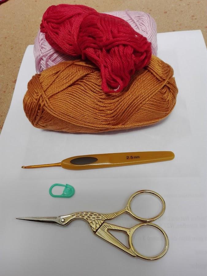 materiales para hacer bolso de ganchillo