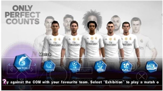 Download Game PES 2016 Update Patch ISO terbaru untuk Emulator PPSSPP