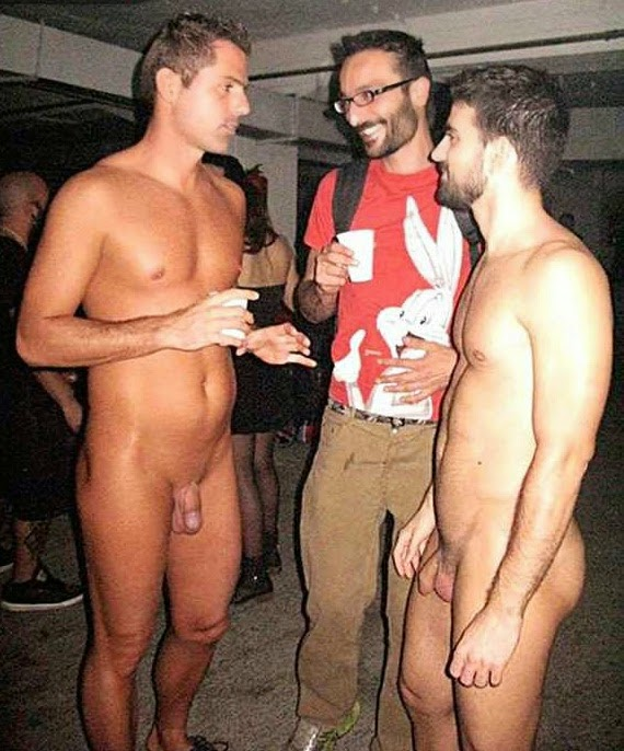 Gay man party