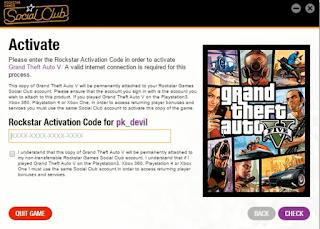 rockstar games activation code gta 5 free