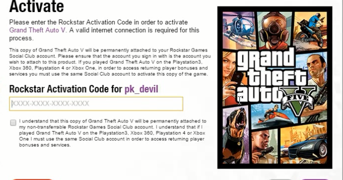 rockstar activation code gta 5 pc crack