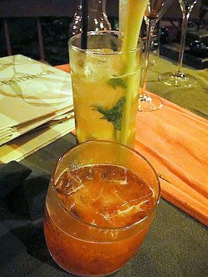 Dessert cocktails: Black Forest (vodka, xeres vinegar, dark cacao ...