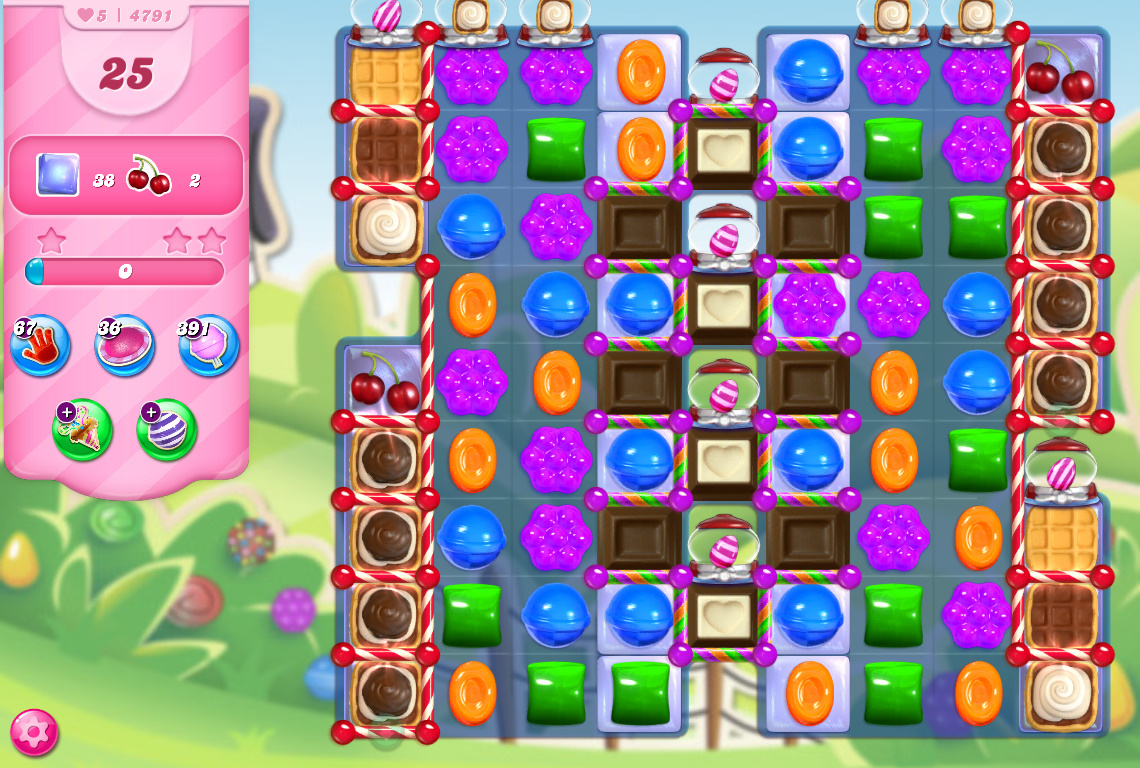 Candy Crush Saga level 4791