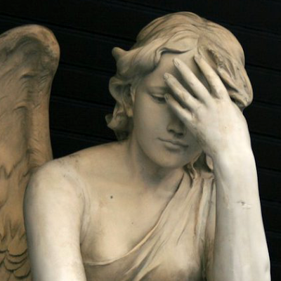 angel facepalm