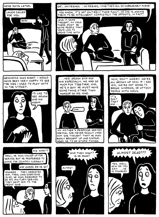 Read Persepolis 2 Section 11 The Joke Page 106