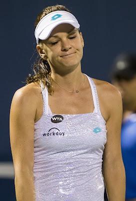 French Open Day 10 highlights: Radwanska, Halep upset
