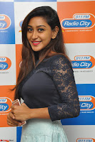 Shravya in skirt and tight top at Vana Villu Movie First Song launch at radio city 91.1 FM ~  Exclusive 28.JPG