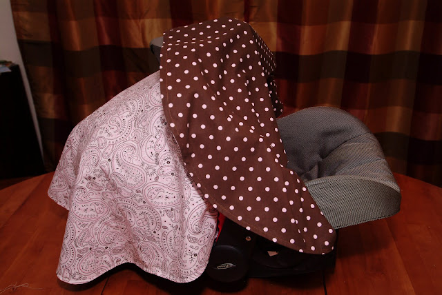 Mo Momma: Sewing: DIY Car Seat Cover Canopy Tutorial