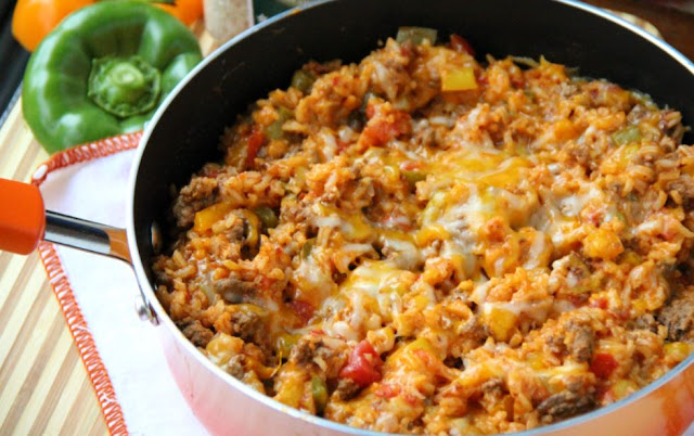 Stuffed Pepper Casserole , 10 smart points , weight watchers recipes