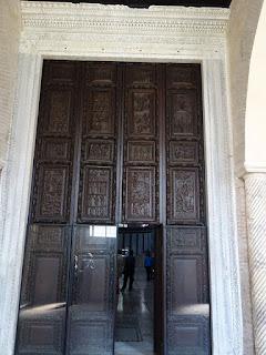 santa sabina portao cipreste - Basílica de Santa Sabina