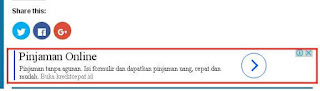 contoh iklan google adwords di website