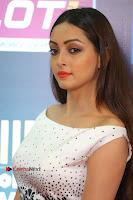 Actress Pooja Salvi Stills in White Dress at SIIMA Short Film Awards 2017 .COM 0176.JPG