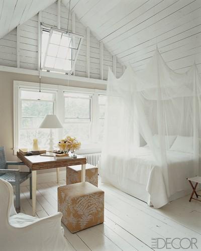 Neo arquitecturaymas Dormir en una buhardilla en blanco