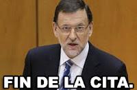 RAJOY FIN DE LA CITA