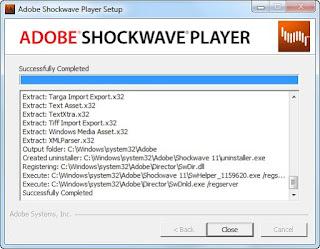 تحميل برنامج ادوبى شوك ويف بلاير Adobe Shockwave Player