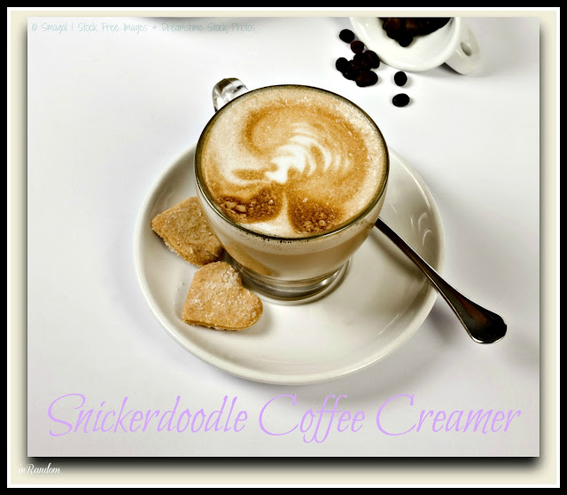 Snickerdoodle Coffee Creamer