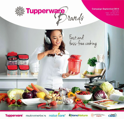 A WONDERFUL WORLD OF TUPPERWARE BRANDS: TUPPERWARE BRANDS 1 SEPT--30 SEPT 2014