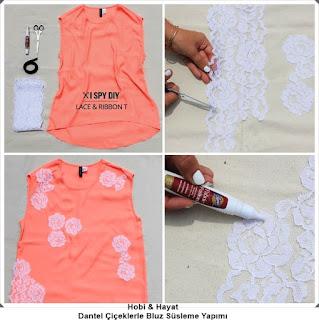 Giysi Süsleme - Bluz Süsleme 1