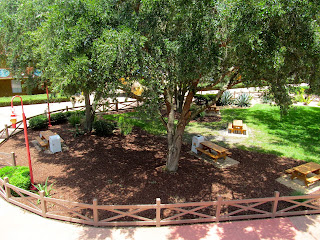 picnic area at disney's all-star music resort