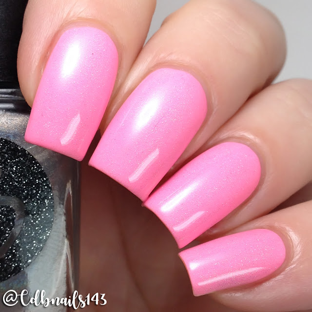 Bliss Polish-Flamingo With Me with Holo Bliss Topper