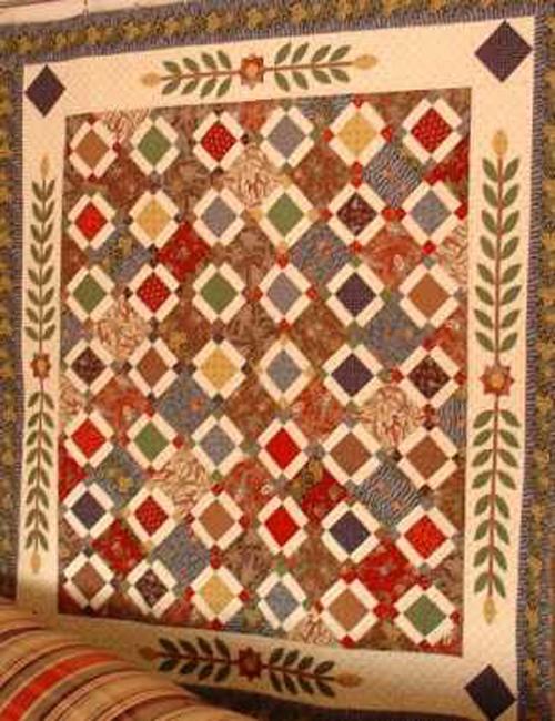 Antebellum Quilt Pattern