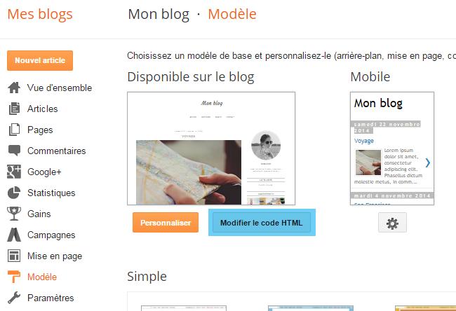 Personnaliser les avatars des commentaires sous Blogger