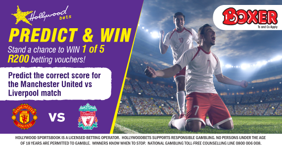 Hollywoodbets Sports Blog: Predict & Win: Stand a Chance to Win 1 of