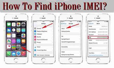cara melihat imei iphone