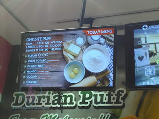 Yuk Cobain Durian Puff Di Taste Better Aeon Mall