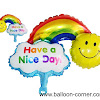 Balon Foil HAVE A NICE DAY & HAPPY BIRTHDAY
