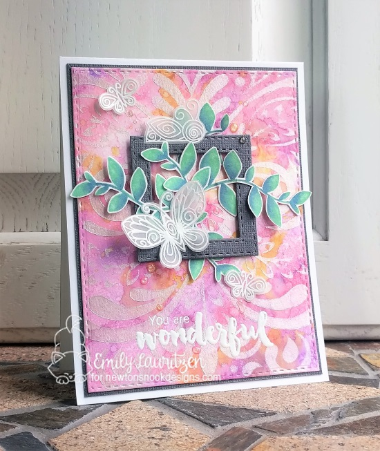 You are wonderful by Emily features Beautiful Wings, Falling into Autumn by Newton's Nook Designs, #newtonsnook