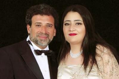 انفصل  خالد يوسف  عن زوجته؟ – بالصورة