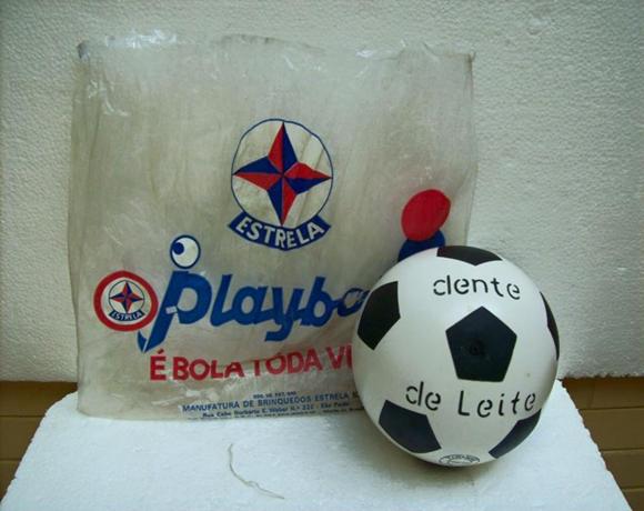 Bola de plástico