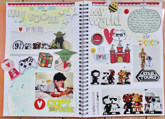 Olimpíadas Scrapdiary - Geek World
