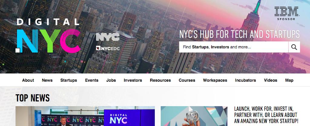紐約新創急速萌芽,Digital.nyc創業資訊集散平台上線