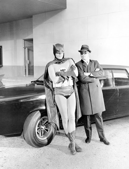 Batman Adam West The Green Hornet Van Williams