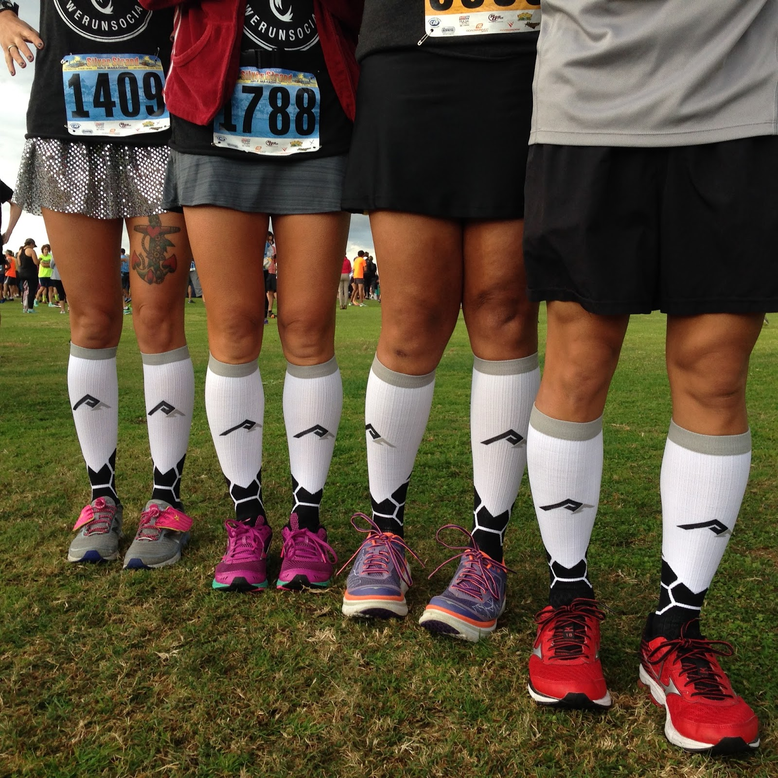 e5a312b299 Did you know that We Run Social did a collaboration with Pro Compression   The WRS BOOM Socks will be available in a week or so! Be on the look out!