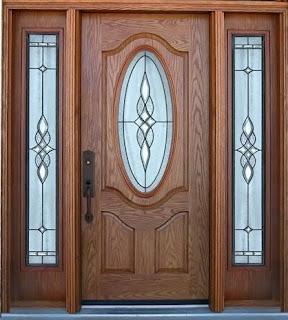 Contoh Motif Desain Model gambar kusen kayu jati Jendela / pintu rumah minimalis terkini.