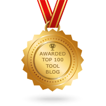 Voted the Top 100 Tool Blogs on the web by Feedspot.