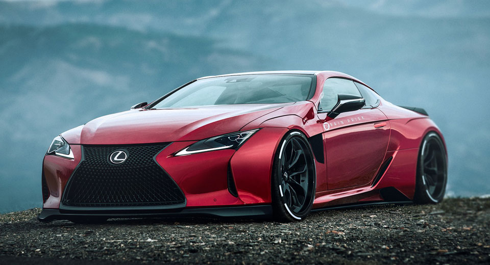 Turbo Wallpaper Car Lexus Lc500 Gets A Supercar Styling Overhaul