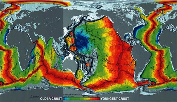 La teoría de la expansión de la Tierra - creciendo