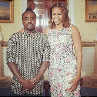 Nigerian-Born Rapper Wale With Michelle Obama (Photo) - Celebrities
