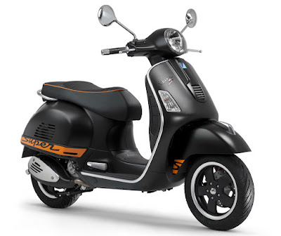 New 2017 Vespa GTS 300 Super Sport black edition  Hd Photos