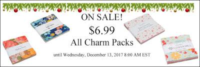 ON SALE: $6.99 All Charm Packs
