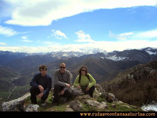 Cima del pico Mayor o Gorrión